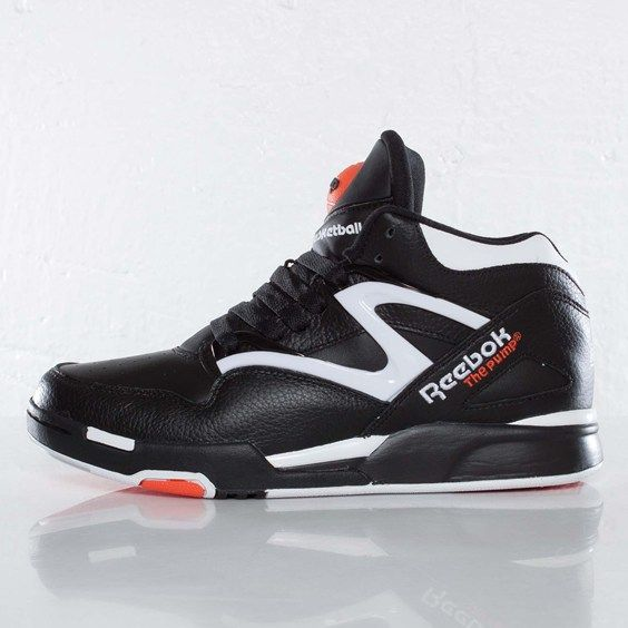 reebok pump omni lite black white varsity orange kicksonfire had this back in a day. Black Bedroom Furniture Sets. Home Design Ideas