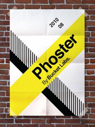 Phoster - skapa snygga planscher