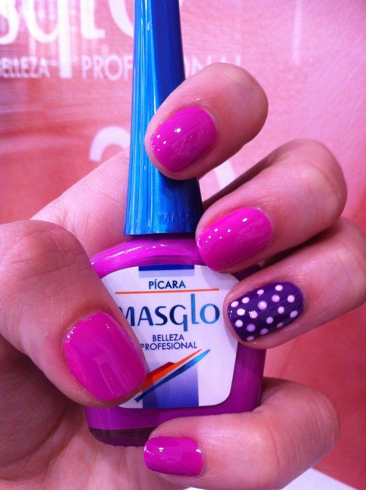 Pícara con Masglo. Masglo Nails