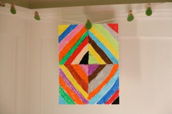 children's art project: kandinsky + music