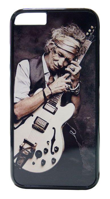 【The Rolling Stones / Keith Richards】ザ・ローリング・ストーンズ キース・リチャーズ iPhone6/6s ハードカバー(B)