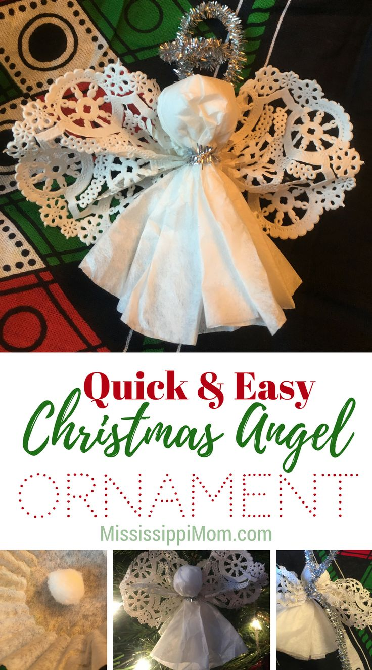Uncategorized How To Make A Christmas Angel 238 best crafts for kids christmas images on pinterest diy and christmas