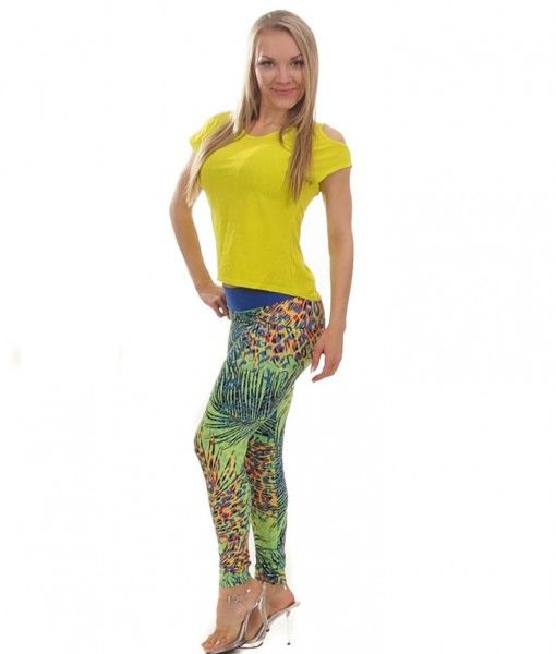 Camboriu Tropic in Me leggings