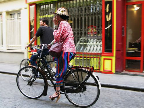 Copenhagen Cycle Chic Goes To Paris by Mikael Colville-Andersen, via Flickr
