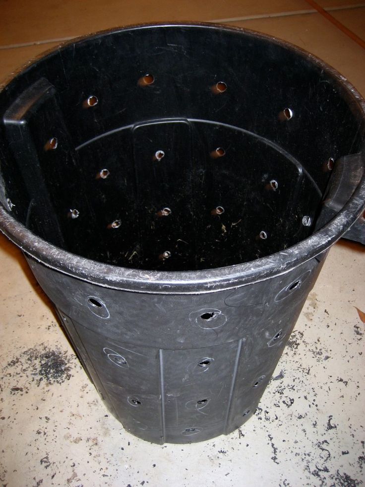 make your own compost bin from a trash can thrifty gardening tips on compost for the urban gardener
