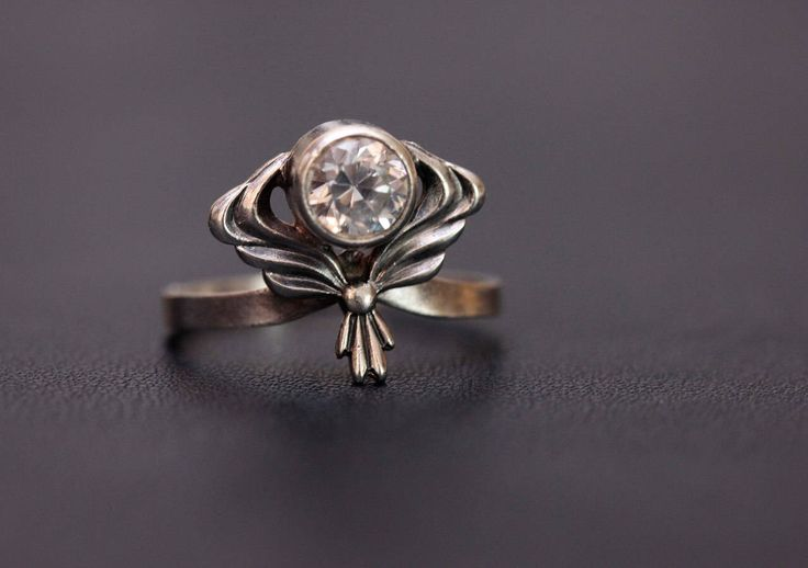 Sterling silver natural Quartz Rock crystal ring. Size - 6 1/2. Made in USSR by SorokaSovietStore on Etsy https://www.etsy.com/listing/540842019/sterling-silver-natural-quartz-rock