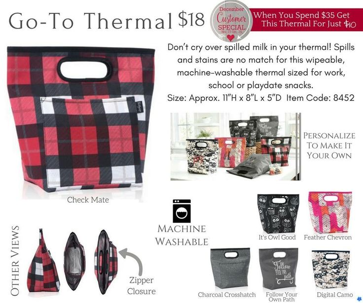 Thirty-One December 2016 Monthly Customer Special #31 #ThirtyOne #gift #Christmas #gift #present #ideas #31uses #31withJonet #bag #tote #holiday #gift #guide #yourwaybin #style #sleeve #Catchall #bin #goto #thermal #mini #zipper #pouch
