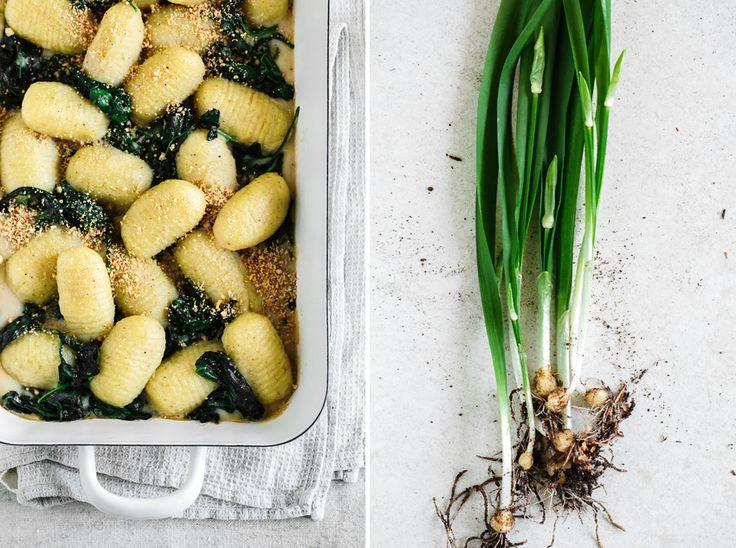 Gnocchi mit Bärlauch und Spinat • KRAUTKOPF