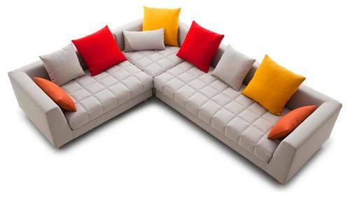 17 best images about combinaci n colores living on for Sofa piel esquinero