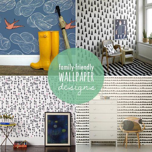 Modern and stylish wallpaper for kids rooms (that you'll love, too!)