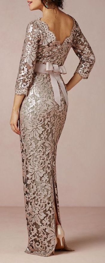 This would be good for the mother of the bride or the matron of honor.