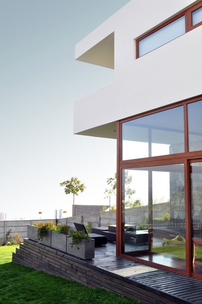 Windows for days and the sunshine to match. #design #modern #architecture #home
