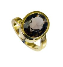 wholesales Gold Plated delicate genuine Brown Ring gift UK