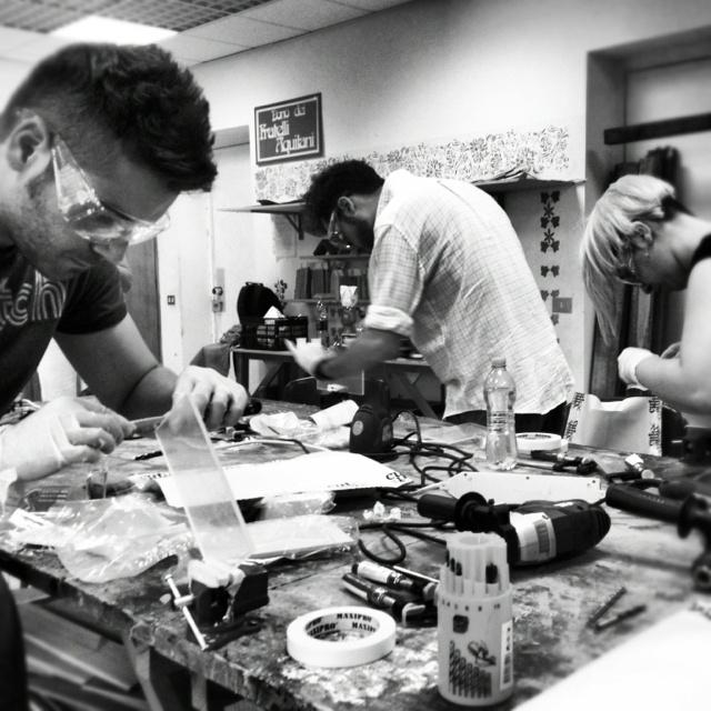 Aspiranti artigiani at work. #designtrasparenteworkshop