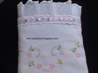 Izabel Biali Embroidery: TURN BABY BLANKET-inspiration