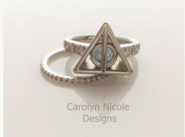 The Deathly Hallows: 19 Engagement Rings You Never Knew Existed But Secretly Want