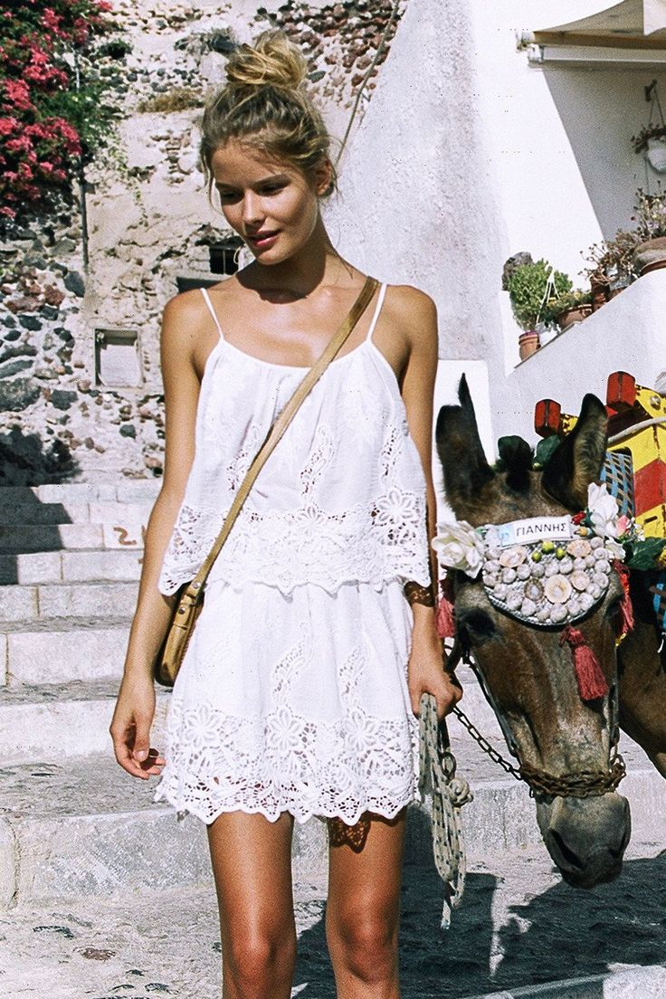 Alena Blohm wears Spell Designs Magnolia Skirt
