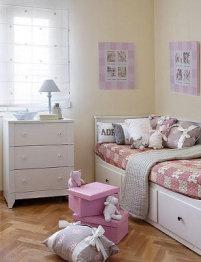 Divan hemnes habitacion nina deco pinterest hemnes - Dormitorio nina ikea ...
