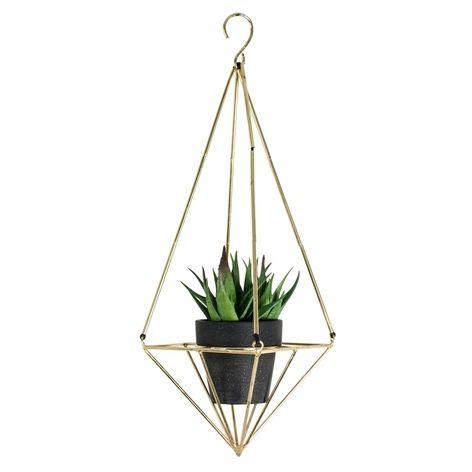 PICO plant hanger. . Metal plant hanger. Suitable for small pots, diameter approx. 7.5 cm.