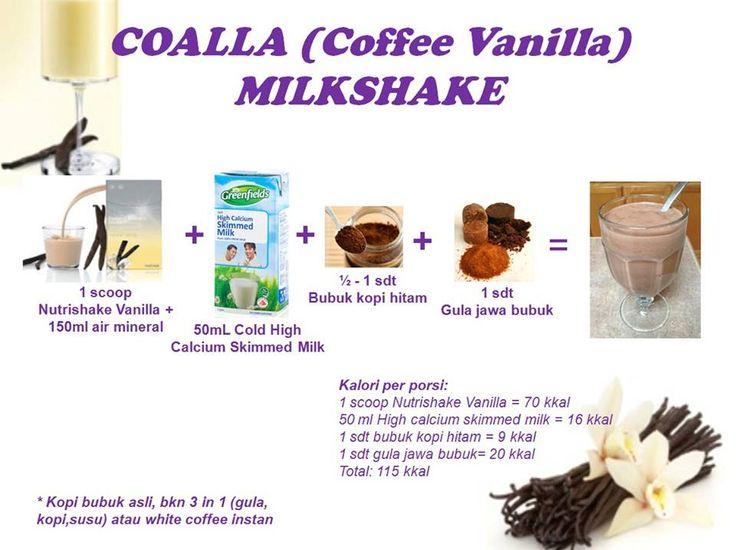 Coalla (Coffee Vanilla) Milkshake