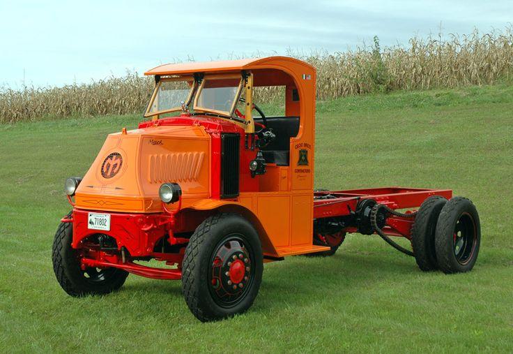 Mack C Model Trucks : Mack model ac chain drive c cab antique trucks