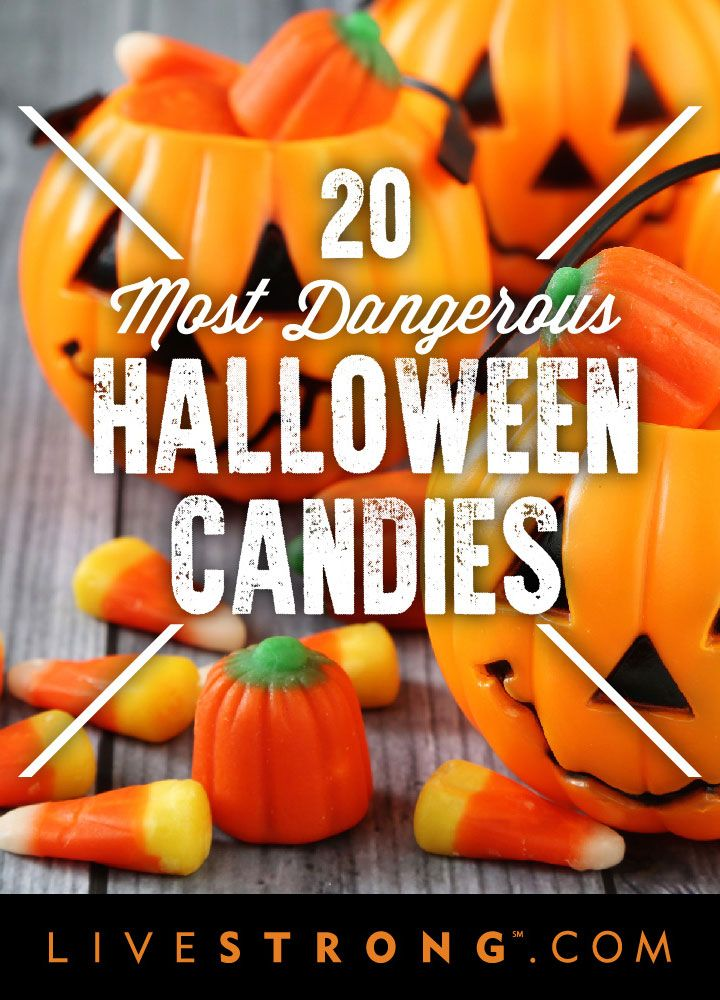 Candy is meant to be a treat, but even when consumed in moderation some varieties push the wellness envelope. Here are the 20 Most Dangerous candies.