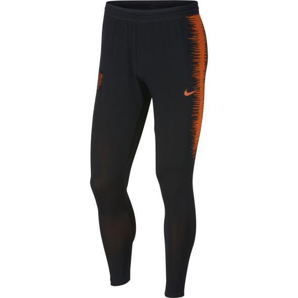 6f7efc521fb Nike Nederland VaporKnit Strike Drill Trainingspak 2018 Black Orange ...