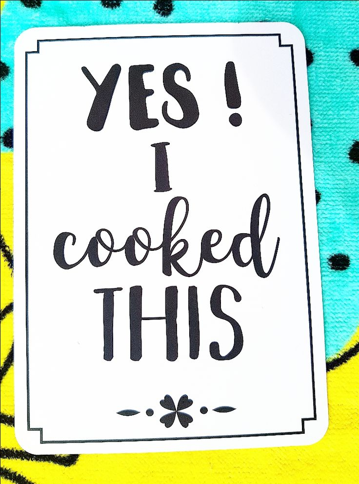 yes! I cooked this! milestones for your 20s. Gifts ideas