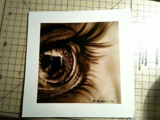 """Look into my eye"" @airbrushing @eye"