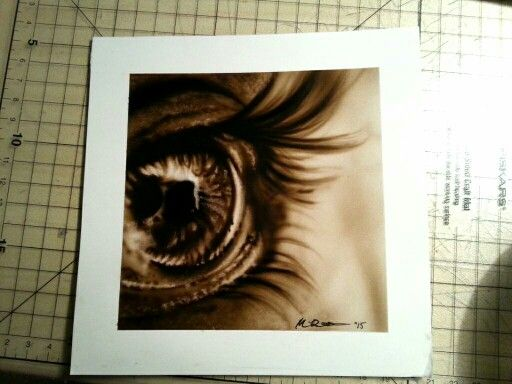 """Look into my eye"" @airbrushing @eye"