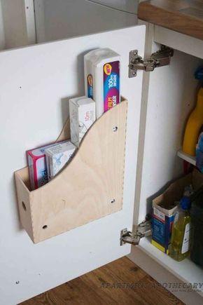 Die besten 25+ Küchenschränke organisieren Ideen auf Pinterest