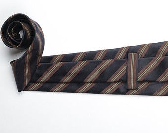 Pure Silk Seven-Fold Tie - Bogotá after Midnight - Four-Fold Tie Also Available
