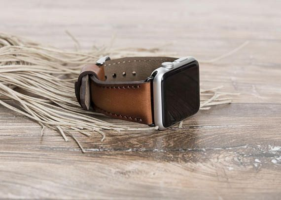 "Apple watch band, Apple watch strap, iwatch band, iwatch strap, brown apple watch band, brown apple watch strap, 42mm, 38mm, Gift  THIS PRODUCT NAME IS DEEP-8  It is produced dedicatedly in order to fulfil your need. Its a perfect gift for husband, brother, father, friend and anyone you love and appreciate.   [ FEATURES OF DEEP-8 ]  • Suitable model : Apple Watch • Handmade item. • %100 Genuine leather. • Apple Watch band size : 38mm or 42mm • Dimensions; Long Track; Wide: 0.78"" (2cm)…"