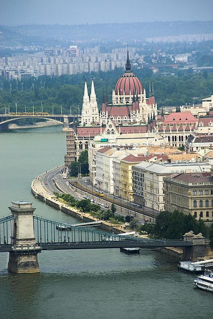 Gorgeous Budapest, Hungary. Experience it on your Danube River Cruise: http://www.bargetravelpoints.com/largeriver/itin_danube.htm Photo: youngrobv, via Flickr