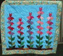 何の花でしょう?Paper Pieced Quilt