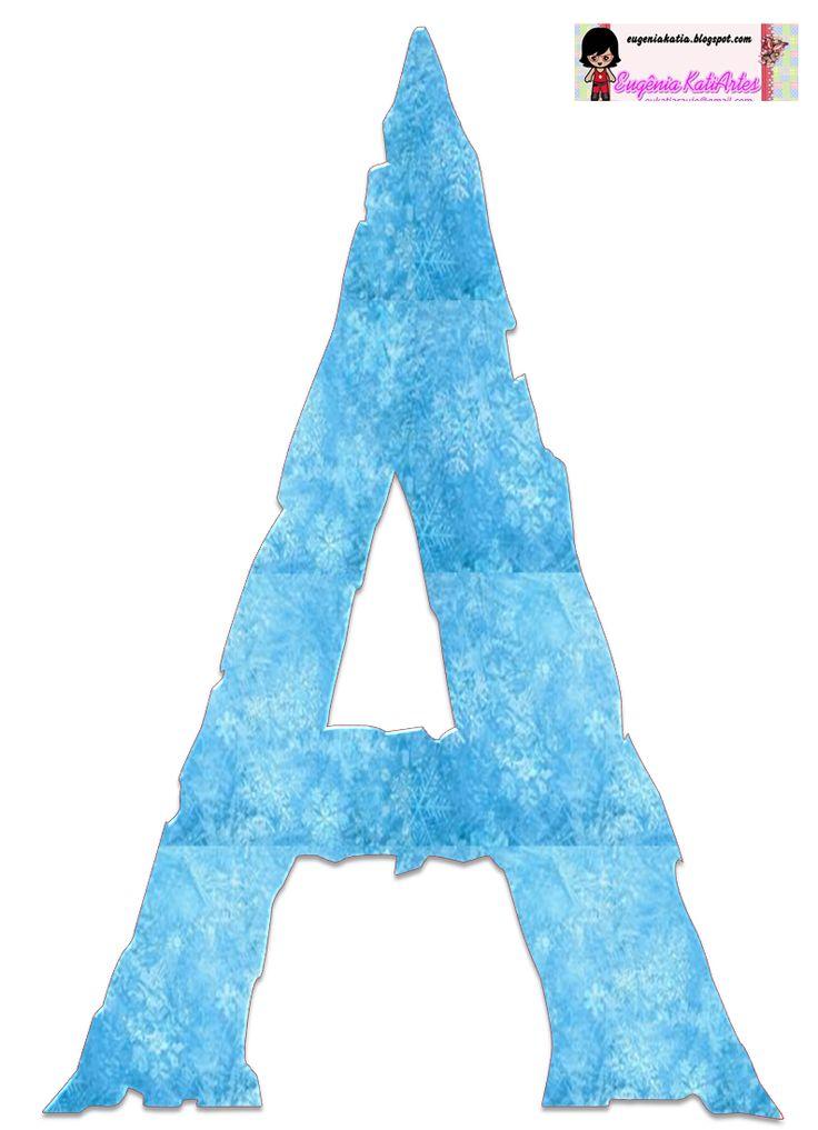 Alfabeto FROZEN 2 | Alphabet, Blog and Frozen