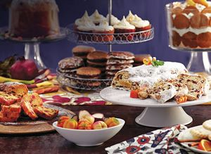 Click on pictures to go to World Market coupon code - 25% on all fruitcake and stollen