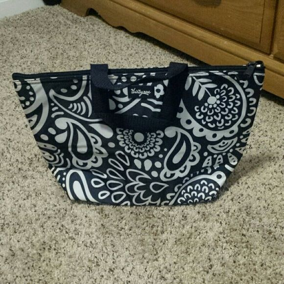 Thirty One Thermal Tote New Thirty One Thermal Tote in navy playful parade. Thirty One Other