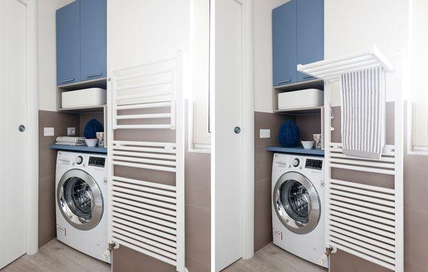 lavanderia su Pinterest  Area lavanderia piccola, Spazio lavanderia ...