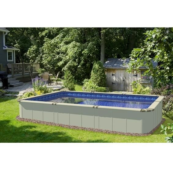 25 Best Ideas About Rectangle Above Ground Pool On Pinterest Inground Pool Designs Above