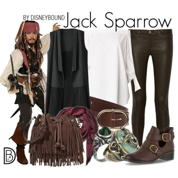 Disney Bound - Jack Sparrow                                                                                                                                                                                 More