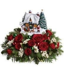OMG a house and flowers delivered.  Christmas next year yea!