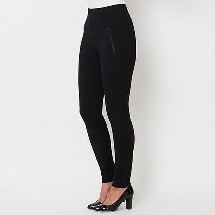 The ponte pant is the choice of fabric for this autumn.