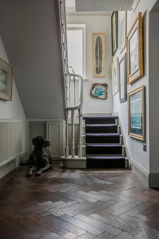 Bespoke, parquet solid wood floors from TileStyle feature in this clients beautiful Dublin home. The herringbone pattern is back with a vengeance! Click the photo to see more of this impressive home...