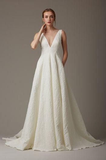 Effortless Elegant Wedding Dresses By Designer Lela Rose In San Francisco California Lace With Sleeves Dress