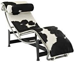 Image result for cow print chaise