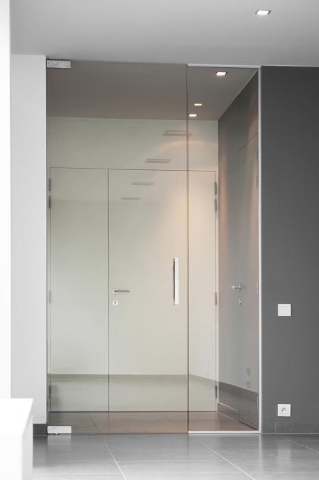 glazen deur badkamer