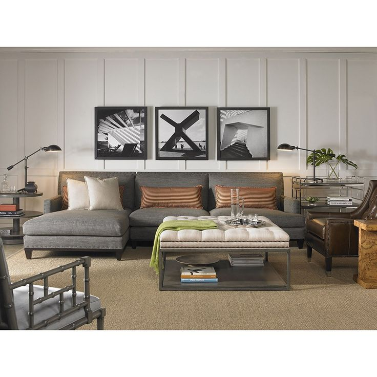 silver glass living room furniture%0A Shop for Vanguard Living Room Sets  and other at Vanguard Furniture in  Conover  NC  Hudson Sofa Shown In Norah Slate on Body Fabric with optional  Black