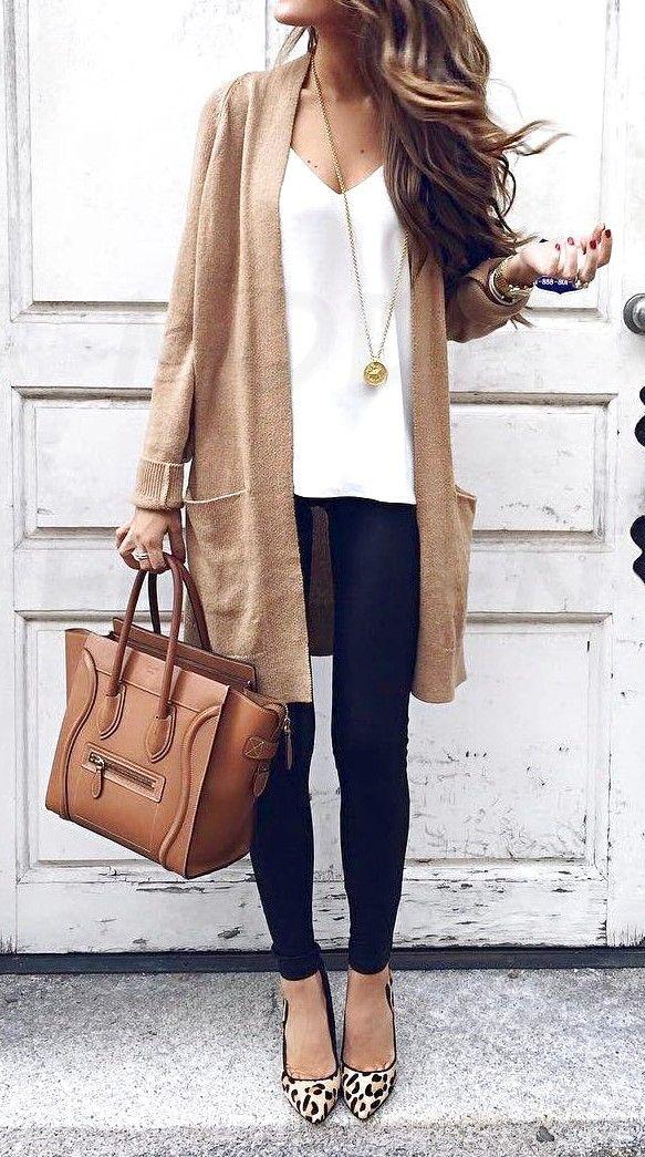 15 lässige Herbst-Outfits für Damen – FashionFee.com