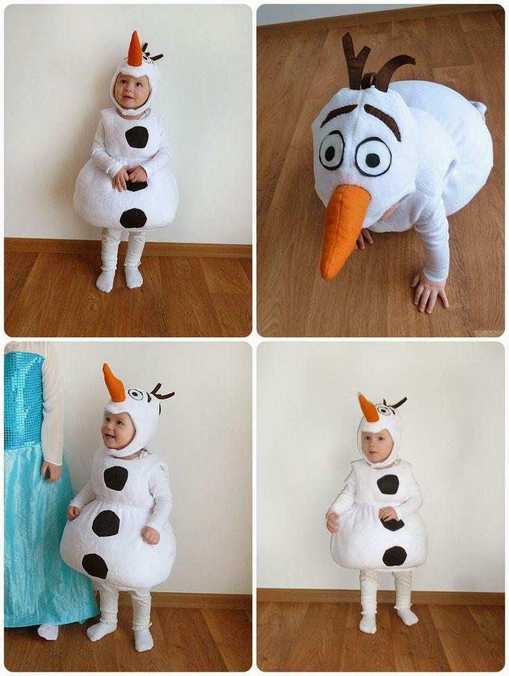 Olaf costume diy